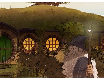 Google Doodle for J.R.R Tolkien