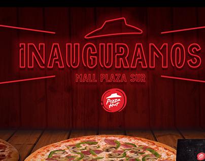 Pizza Hut inauguración