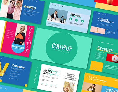 Colorup Powerpoint Template