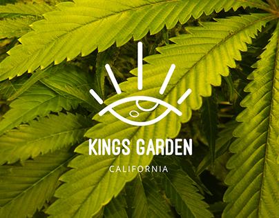 KINGS GARDEN inc.   Branding Design for Marijuana Farm