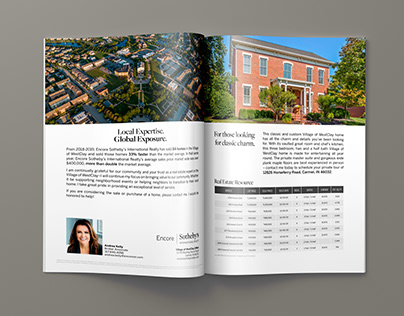 Village of WestClay - Full Page Spread Ad