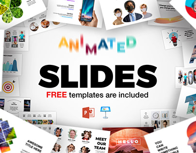 Animated Slides! Freebies for PowerPoint & Keynote.