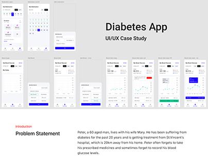 Case Study for Diabetes App