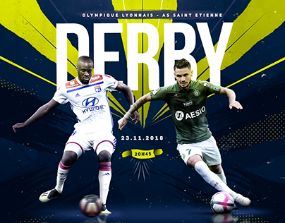 Animation for the DERBY - Ligue 1 Conforama