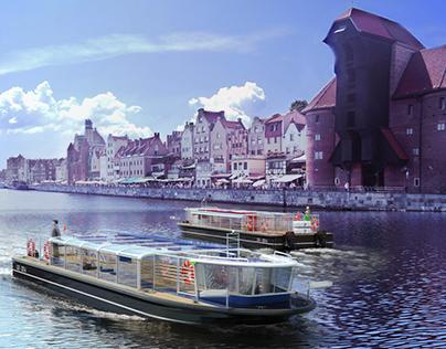 Submergible Ship for Gdansk