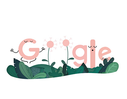 Google doodle | world meditation day