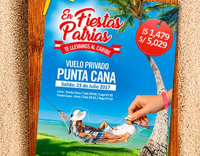 Flyer virtual - Fiestas Patrias