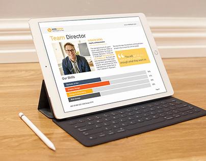 E-Book Web Design Proposal