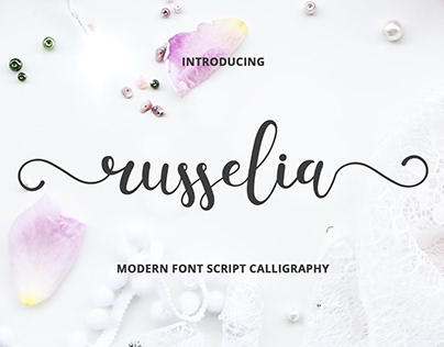 Russelia Font