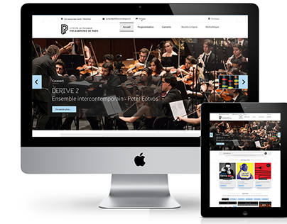 Refonte site web - Philharmonie de Paris