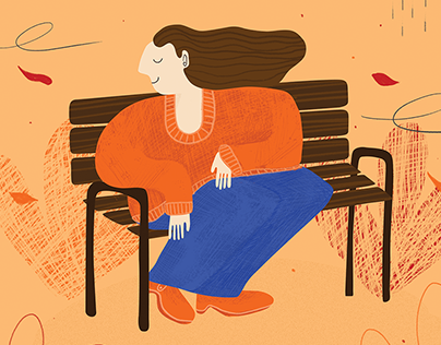 4 seasons - illustration series