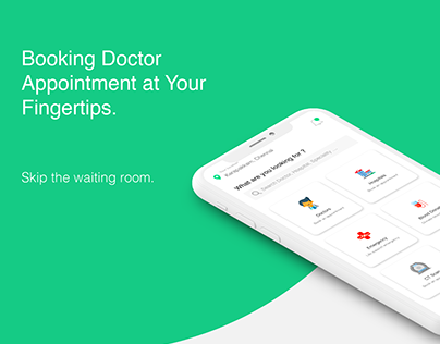 Doctor Appointment Booking UI UX Concept