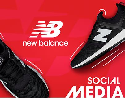 New Balance GCC Social Media