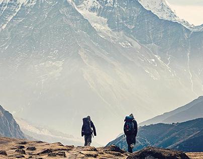Berg Outdoor Responsive Landing Page