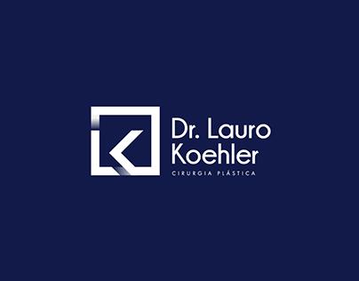 Logo e Identidade Visual Dr. Lauro Koehler
