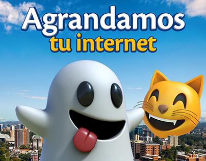 Agrandamos tu internet