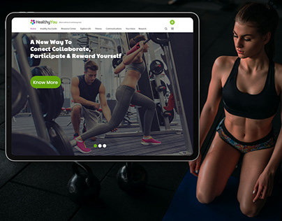 Healthcare,GYM, Fitness Club Website Template