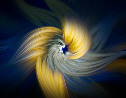 Digital Art Triptychs