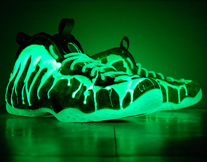 """I've Been Slimed"" Nike Foamposite"