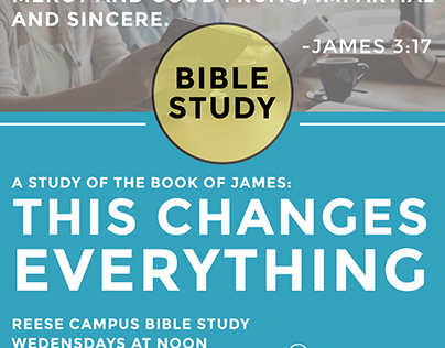 Reese Campus Bible Study Ad
