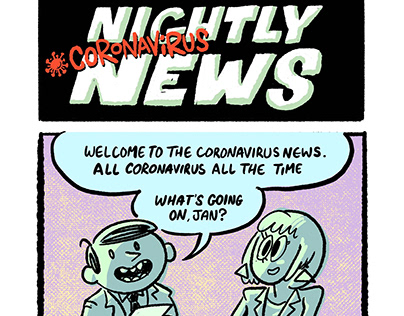 Corona Virus New for The Believer Magazine