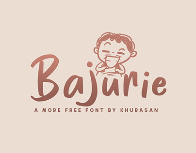 Bajurie free font for commercial use
