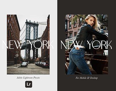 New York Lightroom Presets For Mobile & PC