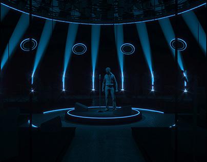 Music TV SET concept