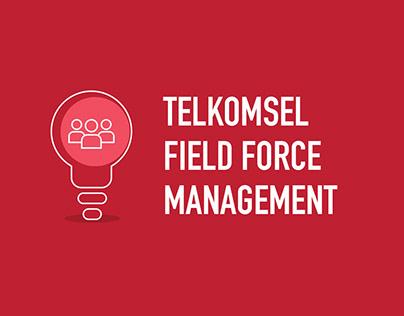 Telkomsel Field Force Management