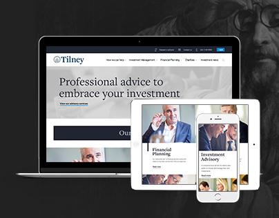 Tilney - Website Redesign