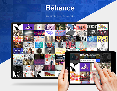 Behance Discovery Installation