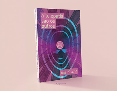 A telepatia são os outros - cover and illustrations.
