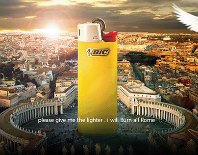 BIc lighter : campaign