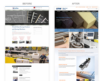 Ohio Tool Works website redesign & SEO