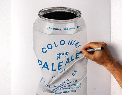 Colonial Pale Ale Tinnie