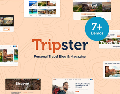 Tripster - Travel & Lifestyle WordPress Blog