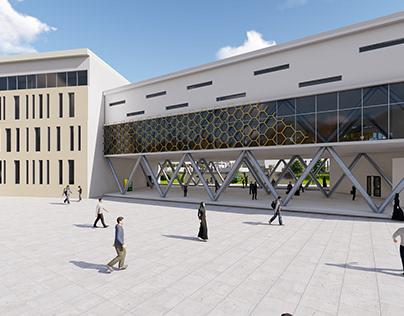 La nouvelle extension de l'université de Mila