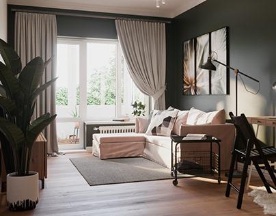 Small apartment. Saint-Petersburg