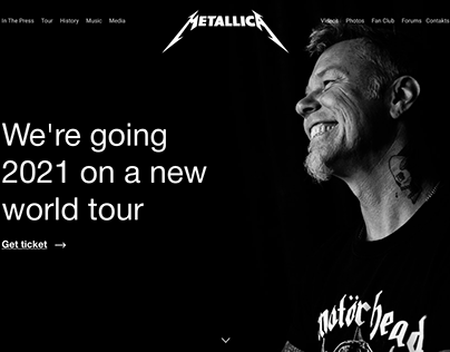 metallica first screen
