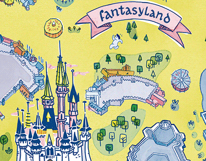 Mapa Fantasyland