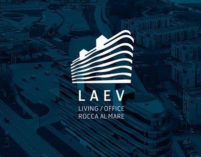LAEV house logo design