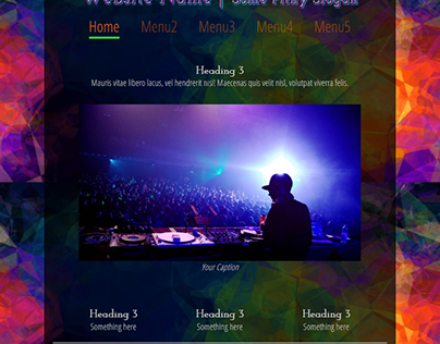 Proof of Concept - Scalable Website Layout