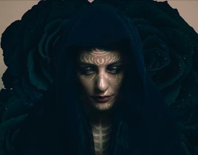 Black Roses - Portrait