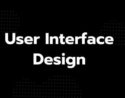 User Interface Web & Mobile Design (Ui)