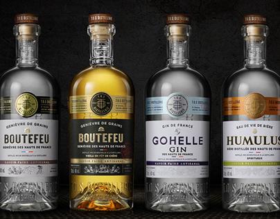 T.O.S. Distillery, Whisky - Gin - Genièvre...