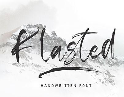 Klasted Handwritten Font