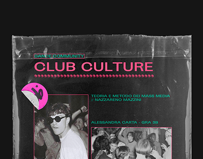 Club Culture // Fanzine