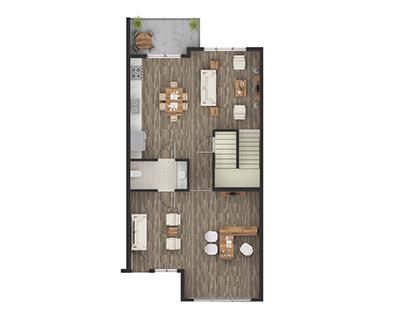 Render Floor Plans with Photoshop in Austin TX