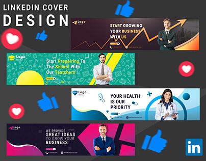 Linkedin Cover Design
