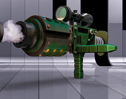 Cartoon Rocket Launcher